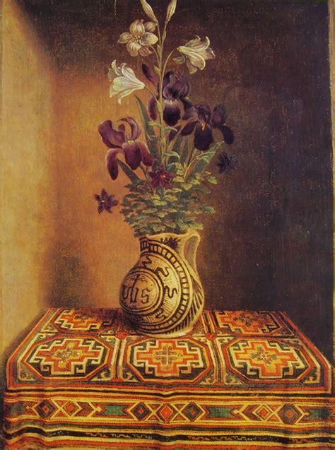 foto di vasi di fiori il quot vaso di fiori quot di hans memling