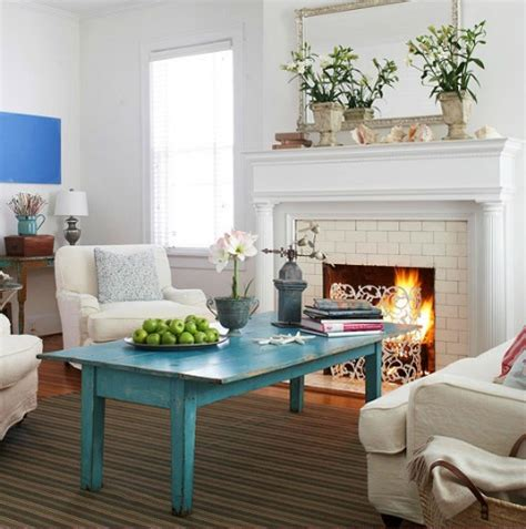 coastal living room color ideas from better homes and