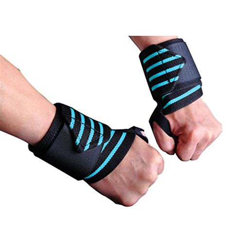 wrist pain bench press iisport wrist wraps 22 5 quot heavy duty weight lifting straps wrist support w thumb