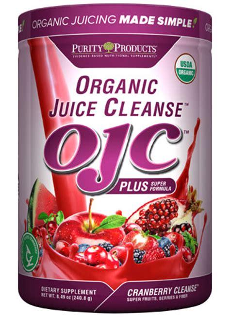 Organic Juice Detox by Certified Organic Juice Cleanse Ojc Plus Cranberry