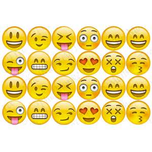 emoji edible cupcake images the monkey tree