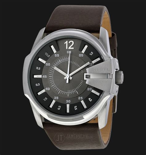 Jam Tangan Diesel Brown Leather diesel dz1206 black brown leather