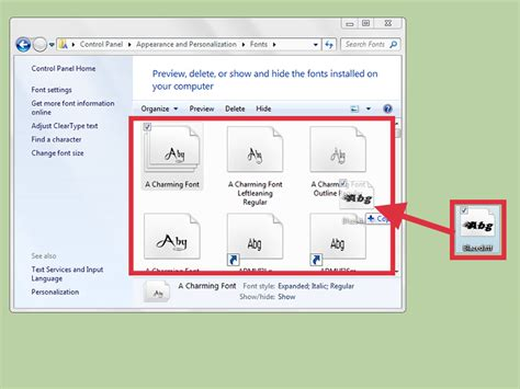 dafont how to install how to download fonts from dafont 7 steps with pictures