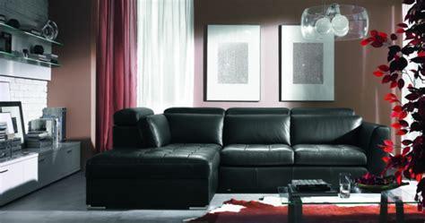 canapé cuir vintage style chambre a coucher gris et blanc