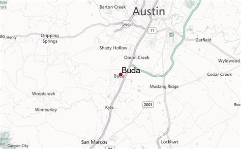 map of buda texas buda location guide