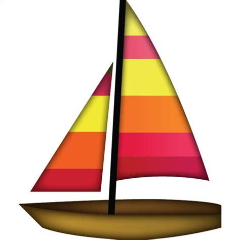 boat icon text download sail boat emoji emoji island