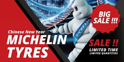 new year tyre promotion new year michelin tyres big sales hawk tyre