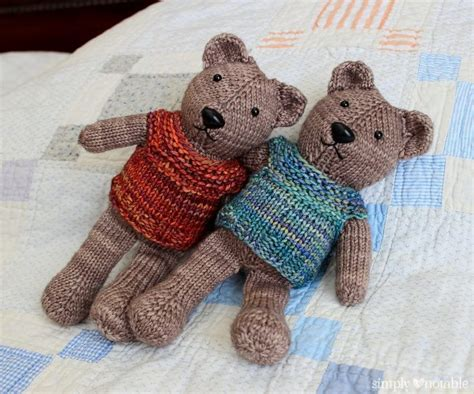 teddy knitting patterns free teddy knitting patterns in the loop knitting