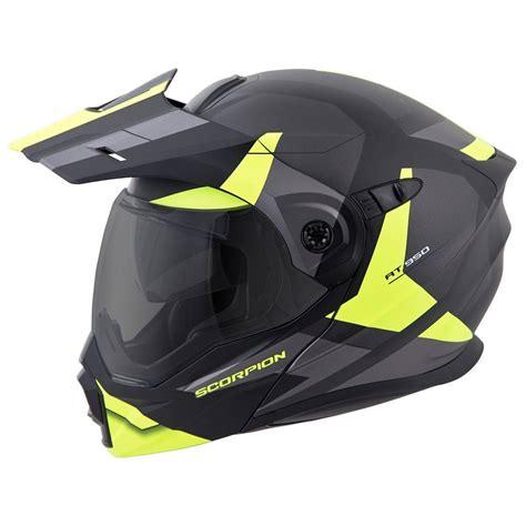 scorpion motocross helmets scorpion exo at950 neocon helmet modular flip up