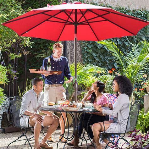 outdoor heat ls amazon amazon com abba patio 9 patio umbrella market