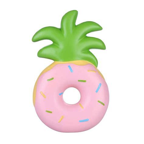 Rising Mainan Squishy Fruit Jumbo vlo squishy jumbo pineapple donut rising original
