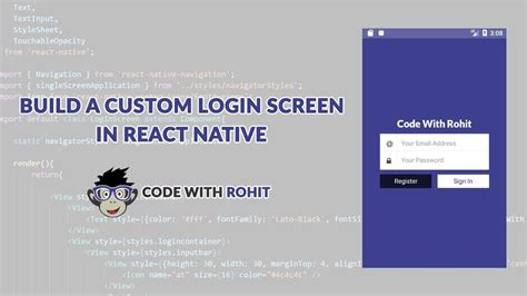 react native tutorial youtube react native login exle tutorial in hindi youtube