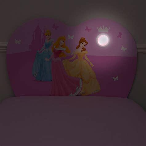 disney princess headboard disney princess light up bed headboard new free p p ebay