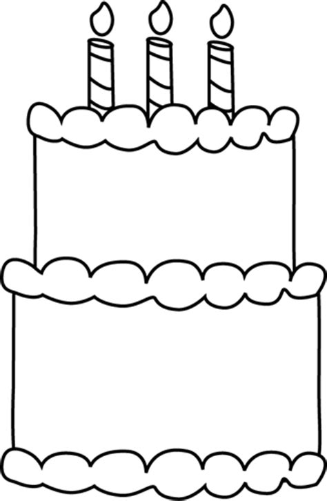 plain birthday cake coloring page black and white birthday cake clip art black and white