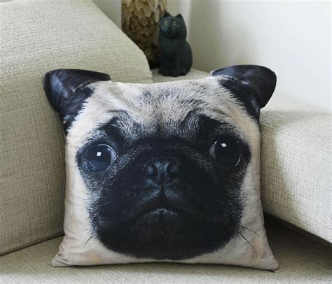 pug pillow lazy decor a tote bag pillow diy the craft collective