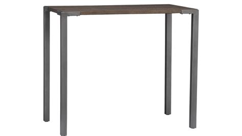 stilt 42 quot high dining table cb2