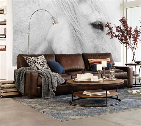 pottery barn leather sofa review pb turner sofa review infosofa co
