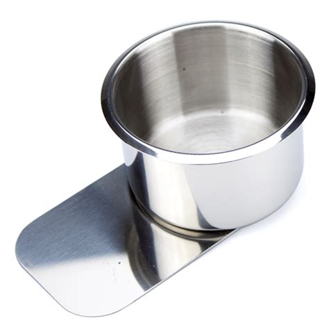 Table Cup Holder by Large Slide Stainless Steel Table Cup Holder