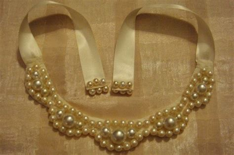 pearl diy diy necklaces bib chunky pearl necklace 183 how to make a