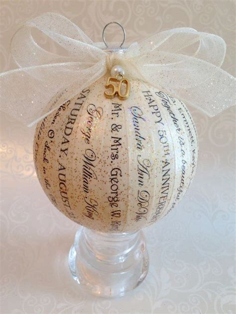 Handmade 50th Anniversary Gifts - 17 best ideas about golden anniversary gifts on