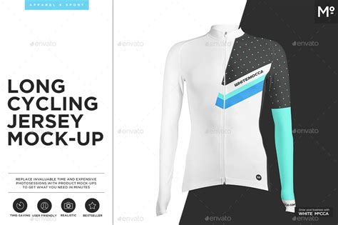 desain jersey mock up long cycling jersey mock up by mocca2go graphicriver