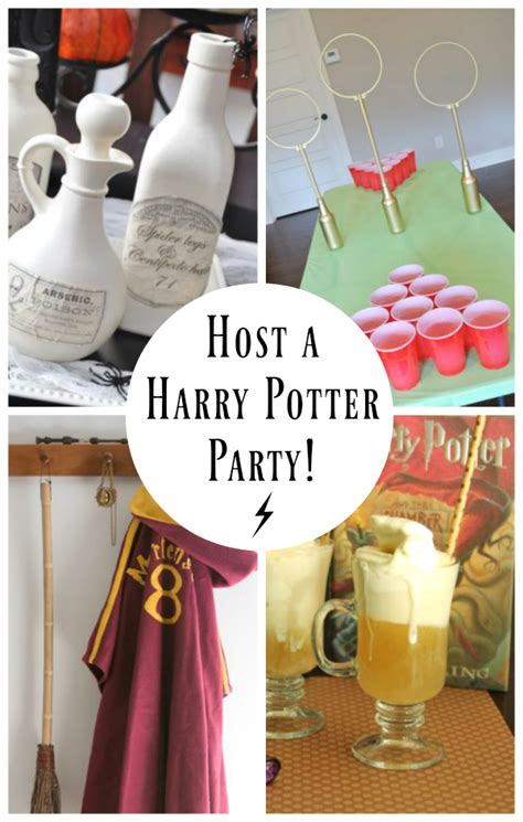 Halloween Decorations To Make At Home by 15 Ideas For A Hosting A Harry Potter Party Make And Takes