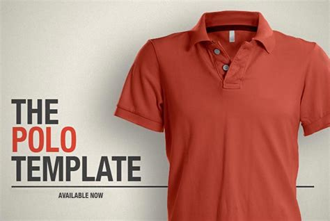 Kaos Class Generik polo shirt photoshop template the polo shirt template pds
