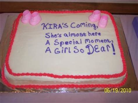 What To Write On Cake For Baby Shower by Baby Shower Cakes Baby Shower Cake Inscription Ideas
