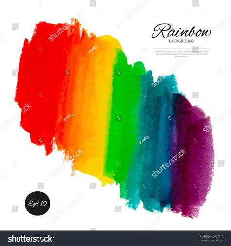 spectrum texture paint vector rainbow watercolor abstract background stock