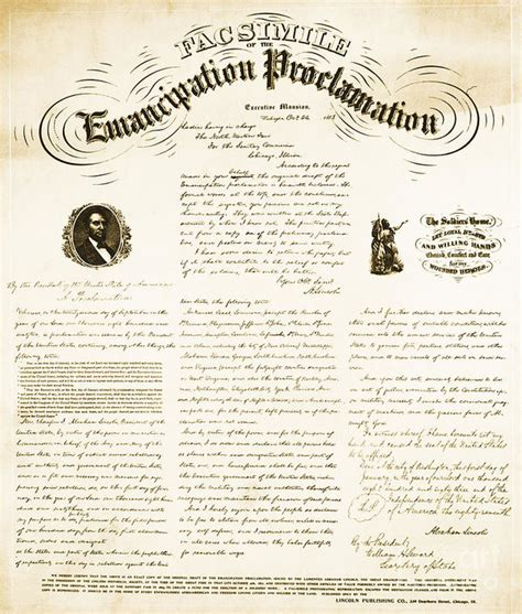 printable version of emancipation proclamation emancipation proclamation print by photo researchers