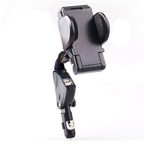 Xenda Universal Car Mount Vehicle xenda universal car mount lighter charger socket in holder dock with dual charging usb