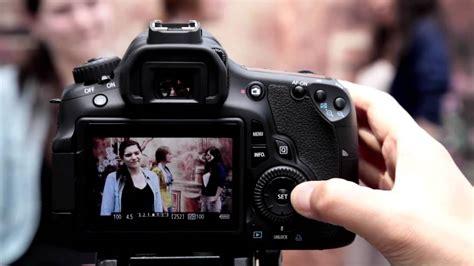 tutorial fotografia canon canon eos 60d tutorial movie mode 7 14 youtube