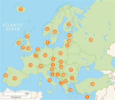 interactive map of europe map of europe europe countries guides guides