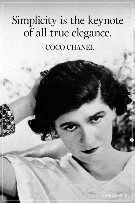 Zitate Coco Chanel by 14 Coco Chanel Quotes Every Should Live By Trend