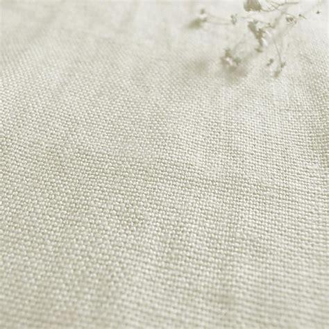 linen upholstery greta oyster cream plain linen fabric