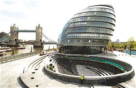 'City Hall, the brand new home of the Mayor of London and ...