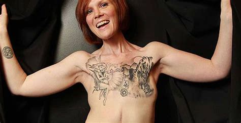 after undergoing a double mastectomy at the age of 28