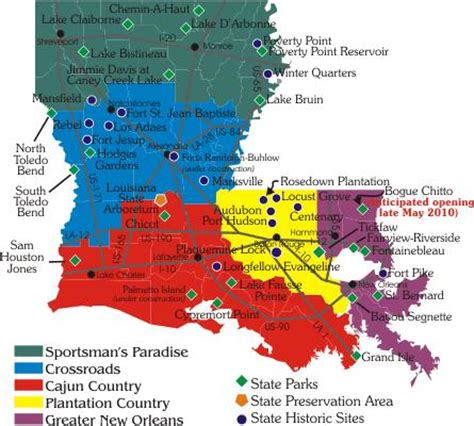 gc25hv7 * louisiana office of state parks * geo project