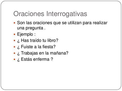 10 preguntas indirectas y directas oraciones interrogativas