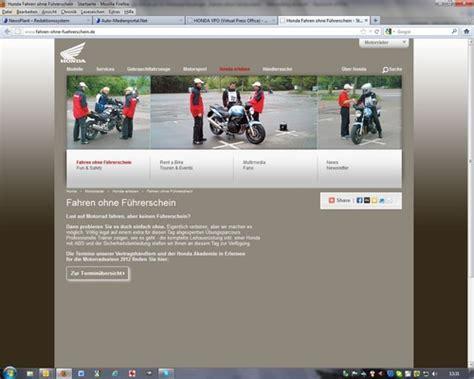 Motorrad Fahren Ohne A Führerschein by Auto Medienportal Net