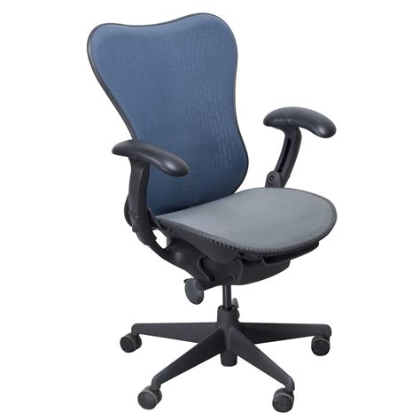 Herman Miller Mirra Chair by Herman Miller Mirra Used Mesh Airweave Seat Task Chair