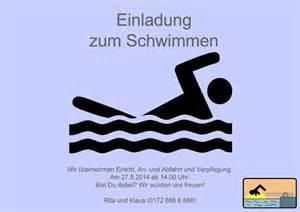 geburtstagseinladung schwimmbad einladungskarten zum schwimmen und ins schwimmbad