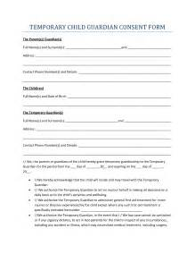 best photos of temporary guardianship form for minor