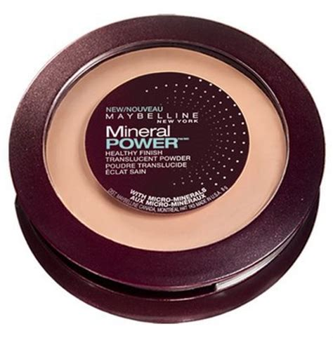 Maybelline Pressed Powder maybelline new york mineral power pressed powder finish