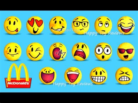 vote no on : emoji plush mcdonald's 2016 happy meal kids toys