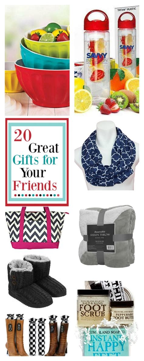 20 great best friend christmas gifts fun squared