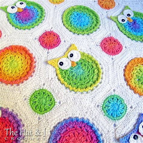 pattern crochet owl crochet pattern owl obsession a colorful owl afghan