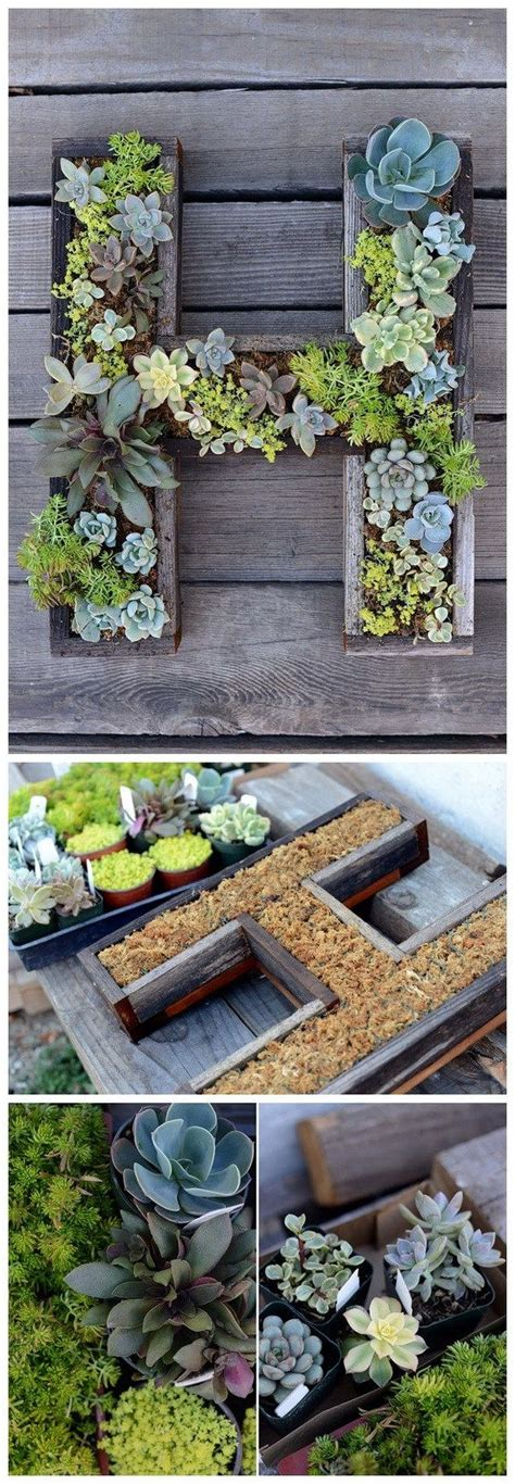 25 best ideas about succulent wall planter on