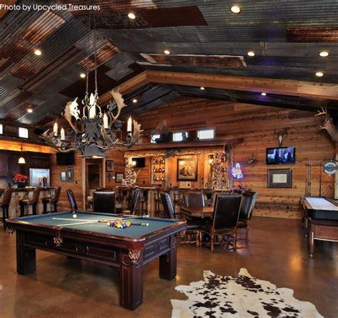large garage turned   man cave   pool table