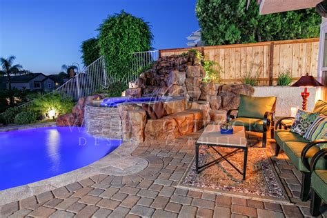 backyard pools and spas custom pools spas rockscape type pools and spas gallery